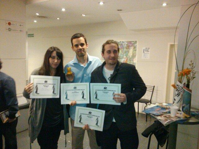 Ganadores de 4 premios con Trata en Buenos Aires